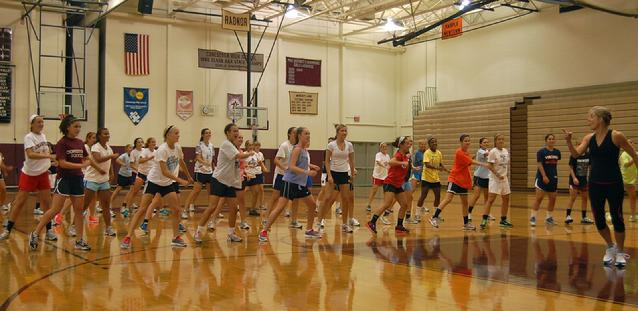 """Agility"" Training with Conestoga High School's Girls Soccer Teams"