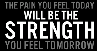 Sore Now – Strength Tomorrow