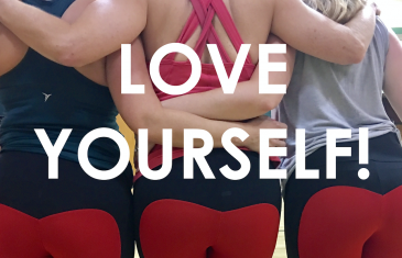 Exercise because you love your body!